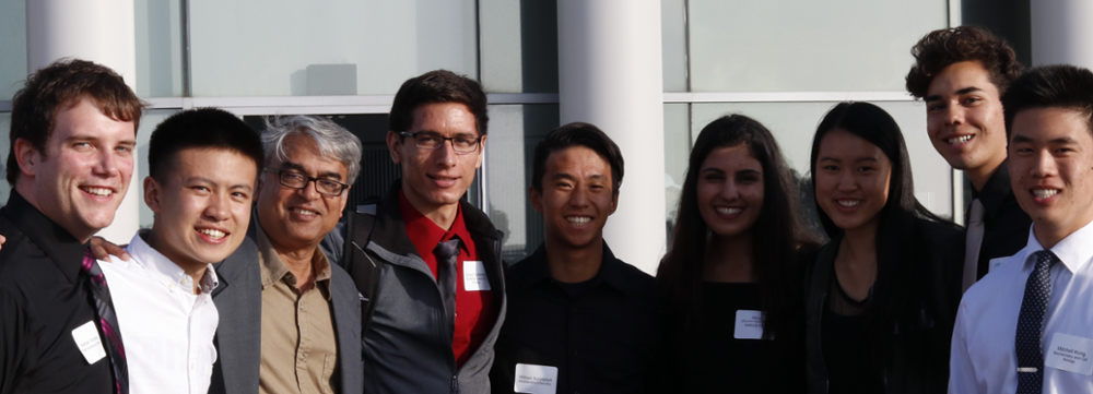 Professor Gourishankar Ghosh and Students, Revelle Honors Ceremony