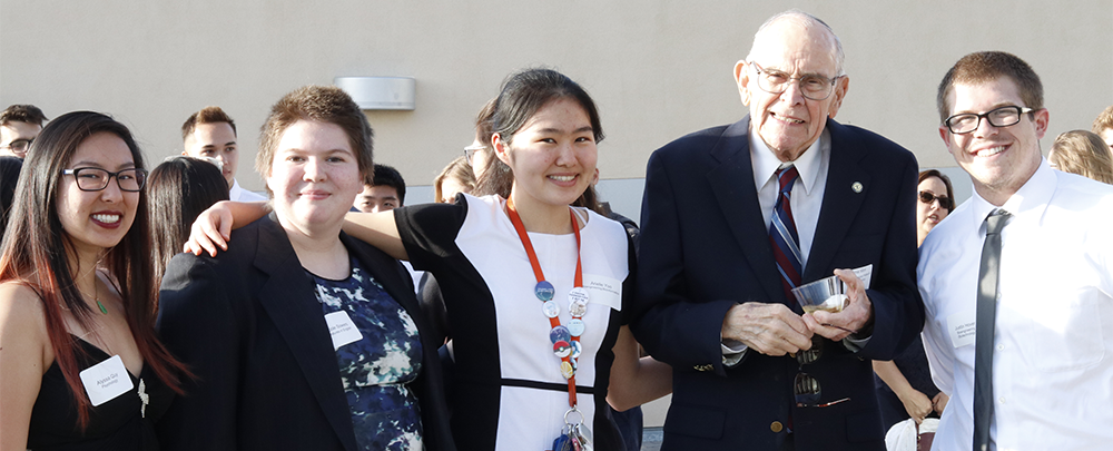 Ernest Mort and Students, Revelle Honors Ceremony