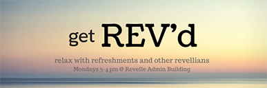 Get REV'd! Monday, April 23